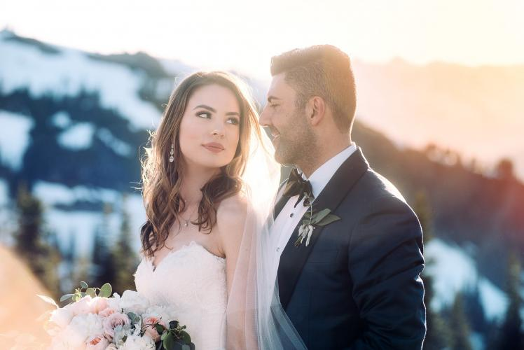 whistler winter wedding