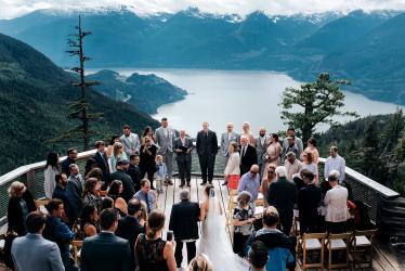 011 - wedding ceremony sea to sky gondola