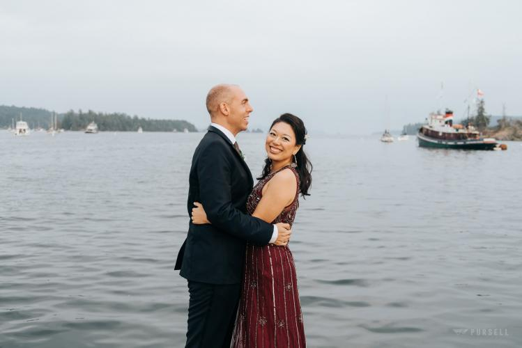 028 - gulf island wedding photography