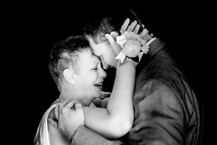 055 - mom wedding photo