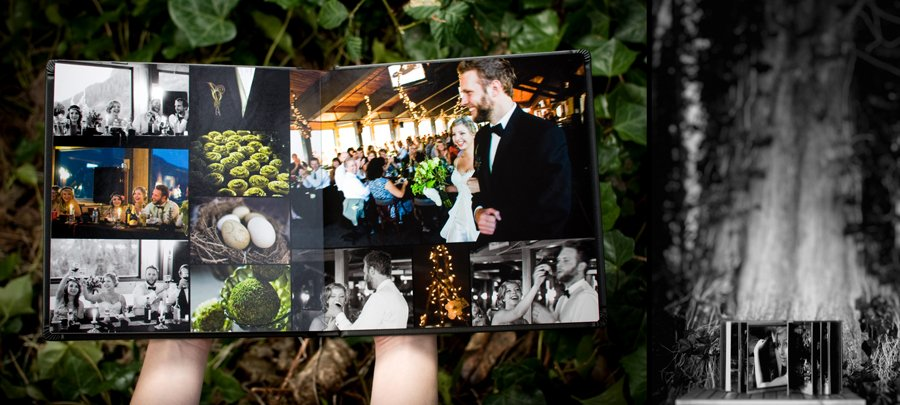 custom designed signature wedding albums