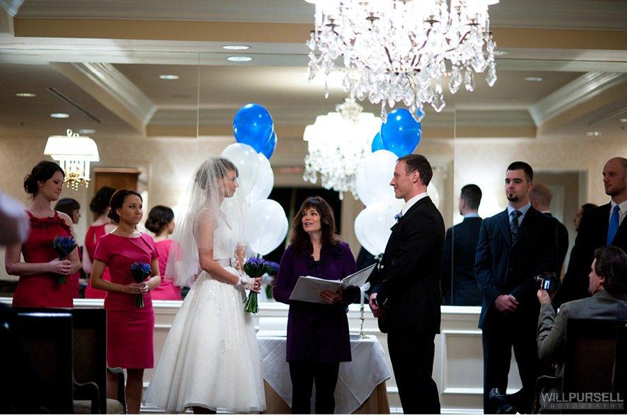Wedding Photos Inside Marine Building Vancouver