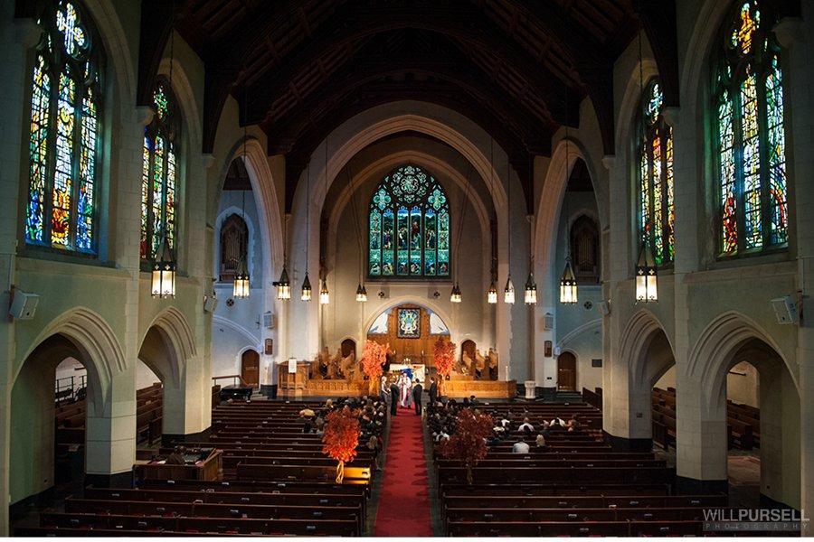 St Andrews Wesley Church Hotel Georgia Wedding
