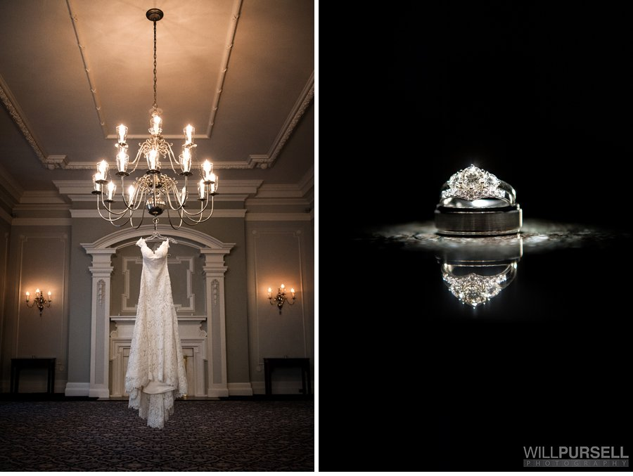 Vancouver club wedding photo