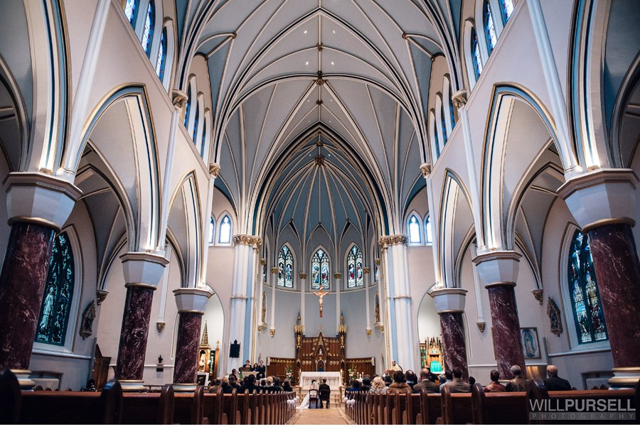 wedding Holy Rosary Cathedral vancouver