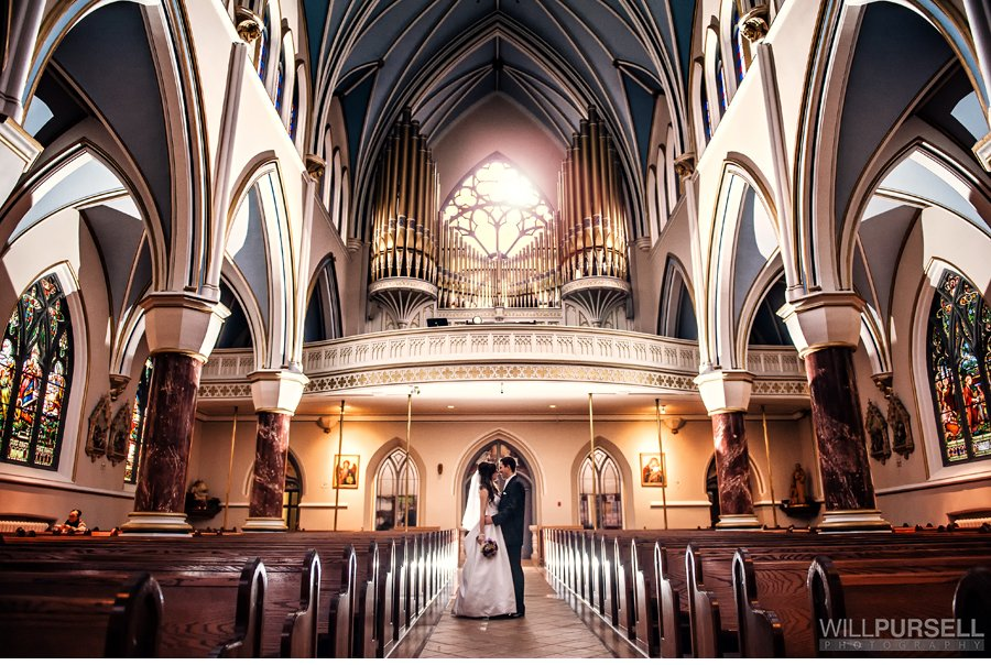 Holy Rosary wedding Vancouver