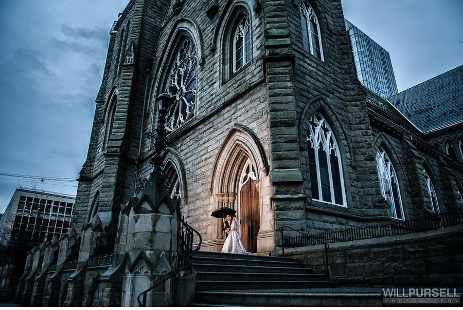 gothic wedding church vancouver