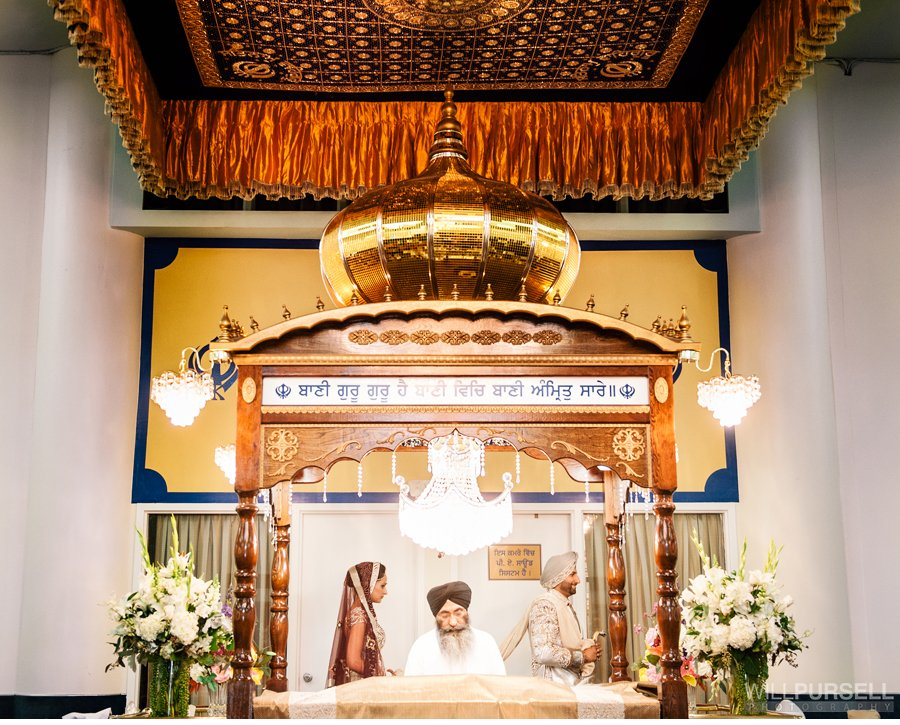 Sikh wedding temple