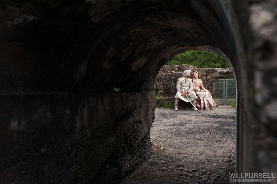 nature wedding photo