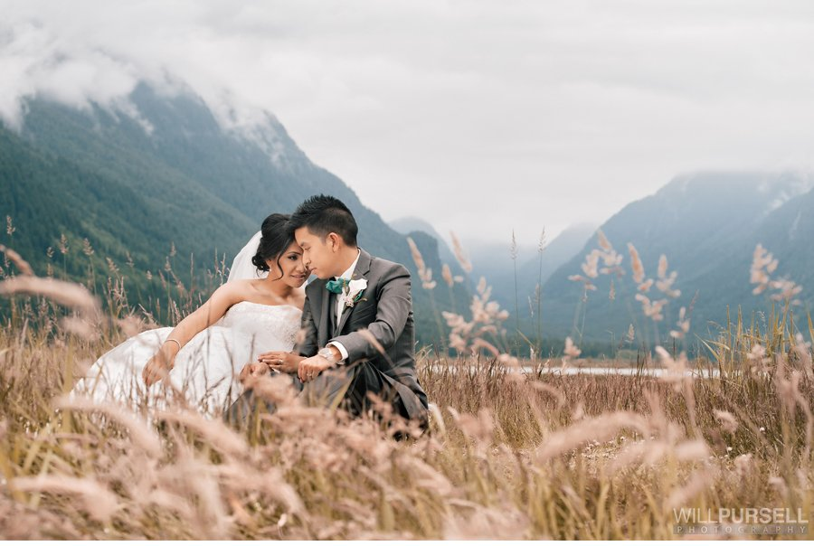 rustic wedding photo vancouver