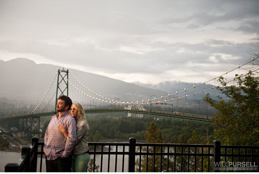 lionsgate bridge engagement photos
