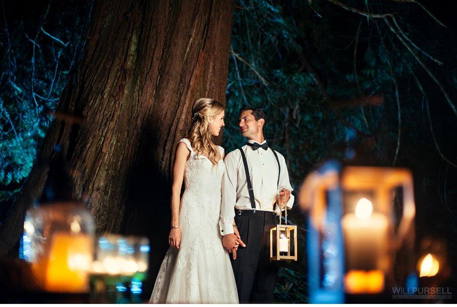 vancouver wedding night photos