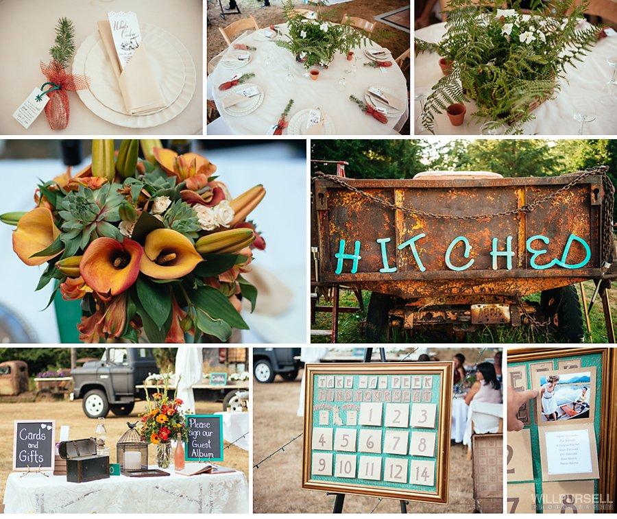 vancouver backyard wedding details