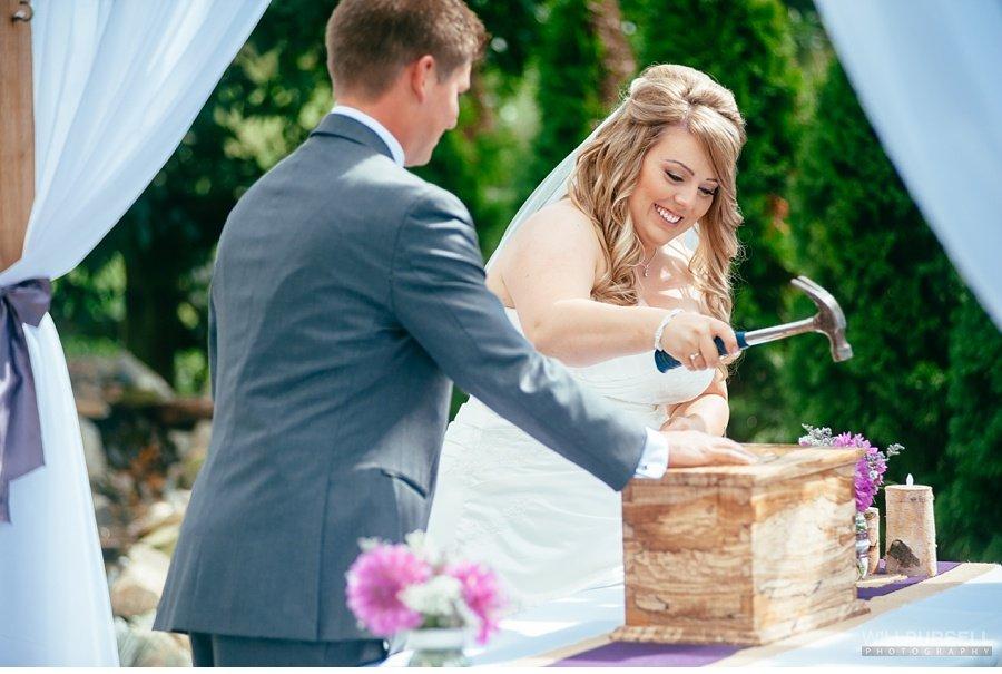 country wedding ceremony