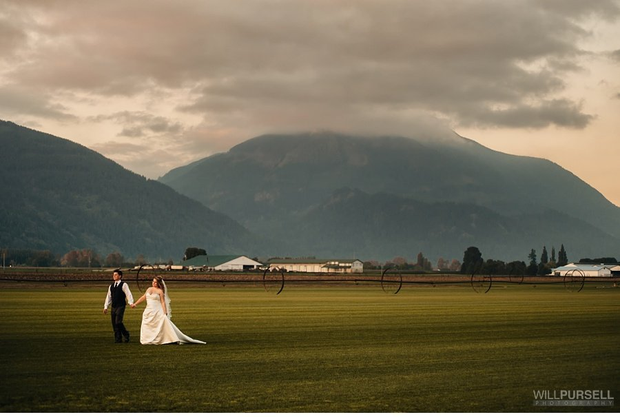 Vancouver outdoor country wedding