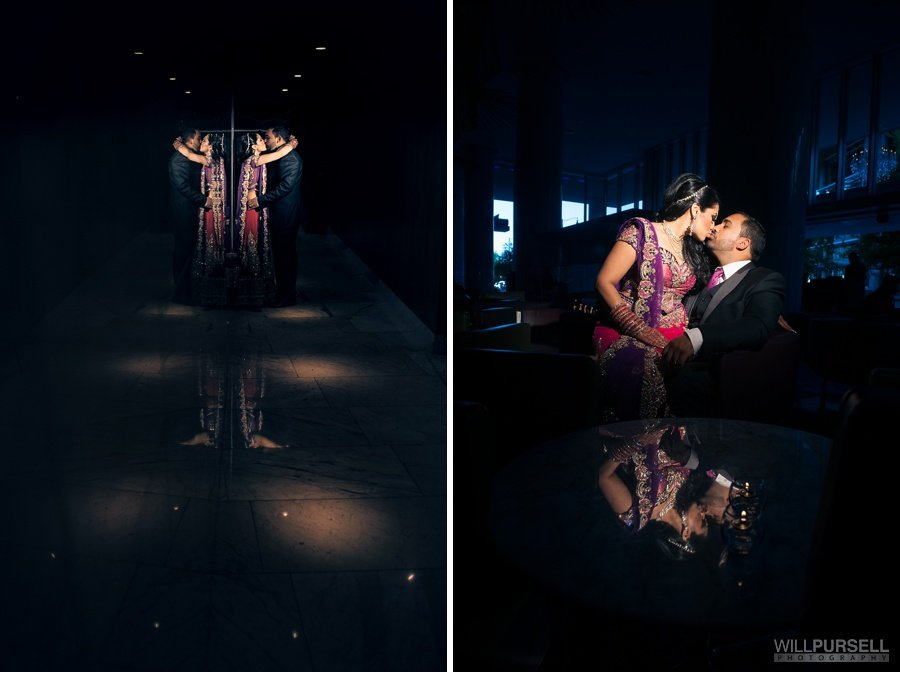 Vancouver Fairmont pacific rim wedding portraits