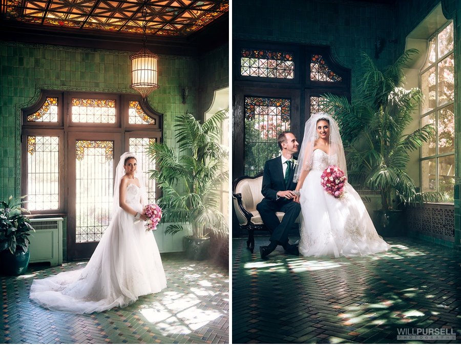 hycroft wedding portrait