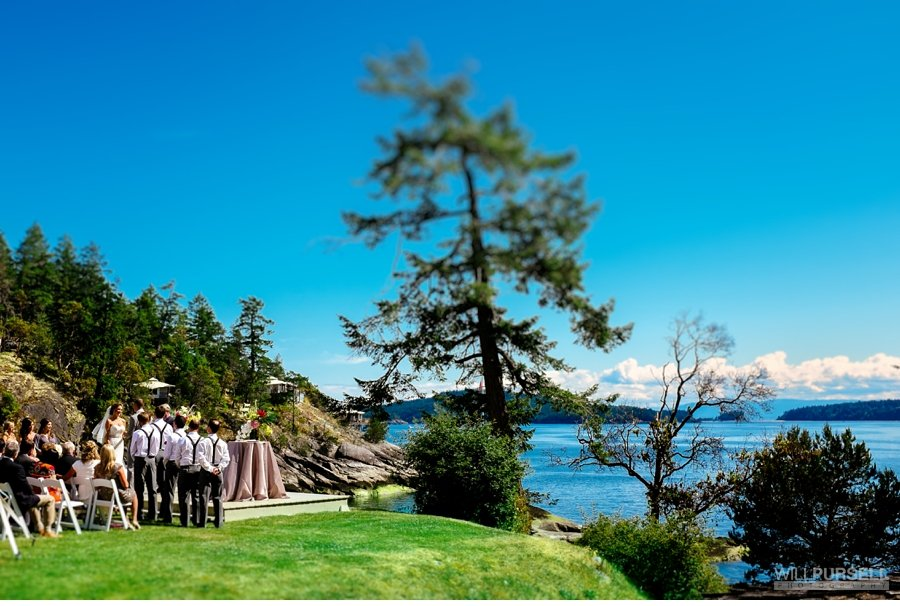outdoor ceremony rockwater secret cove