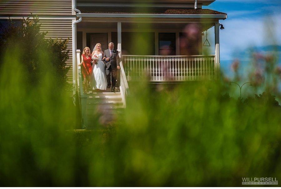 outdoor wedding ceremony aisle photo