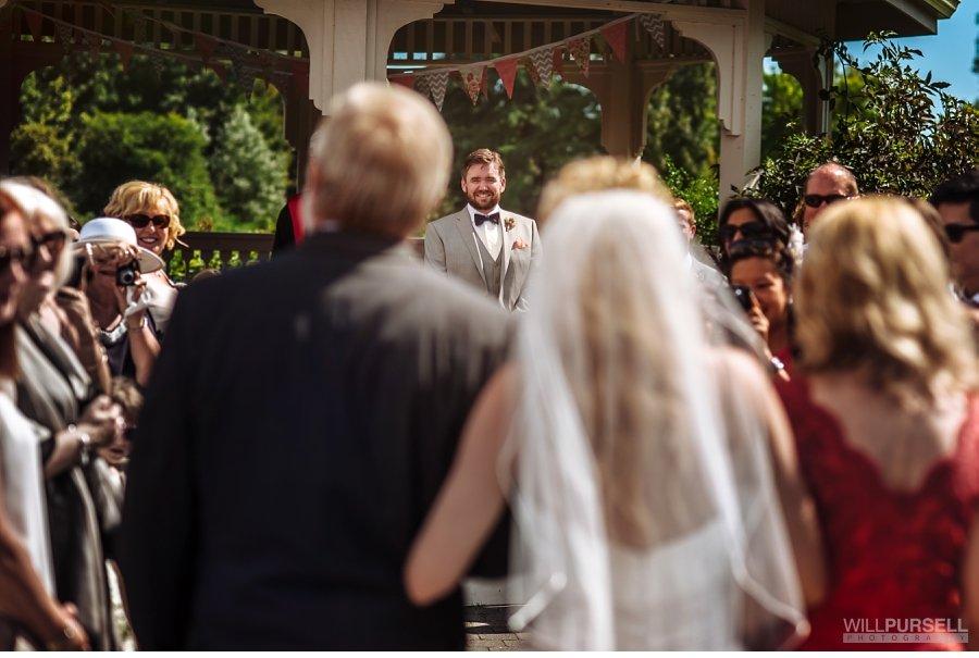 wedding first look groom vancouver