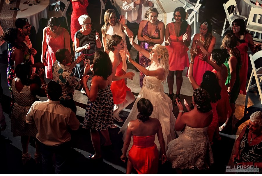 vancouver barn wedding reception party