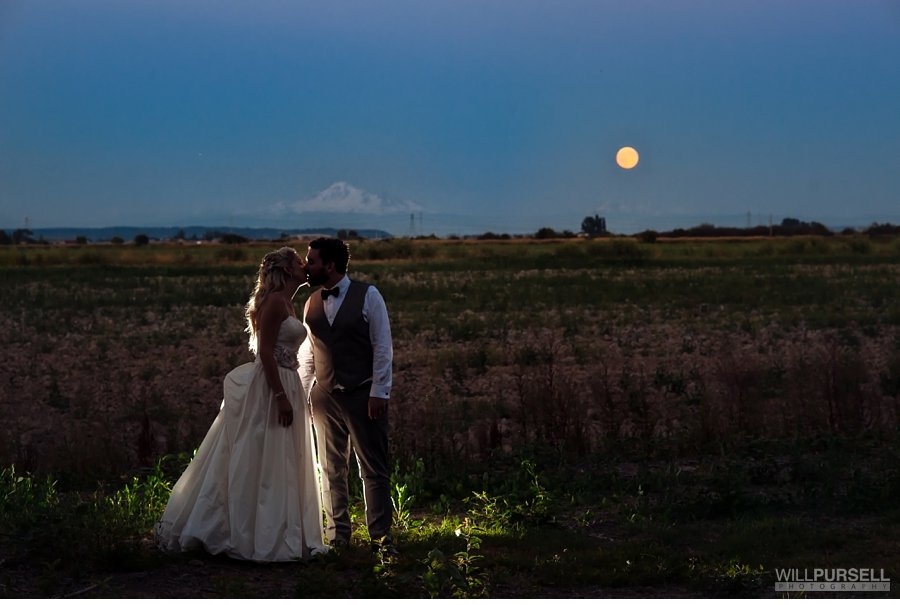 wedding night photo