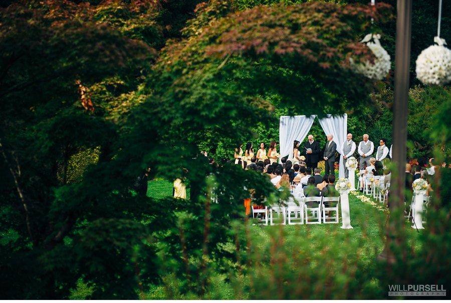 cecil green wedding ceremony photo