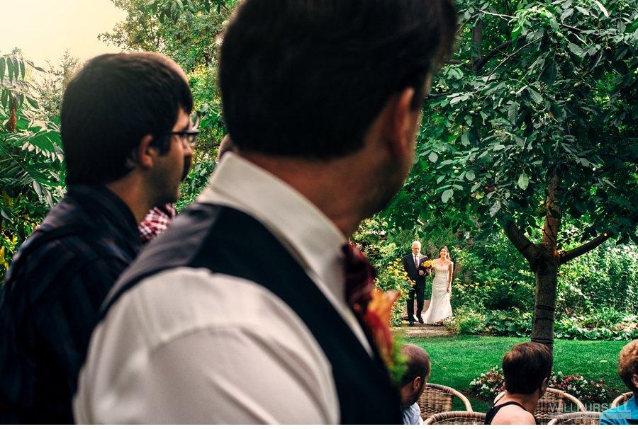wedding first look linden gardens