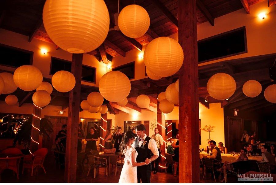 first dance okanagan wedding photo