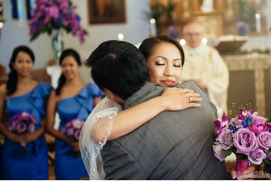 vancouver church wedding ceremony