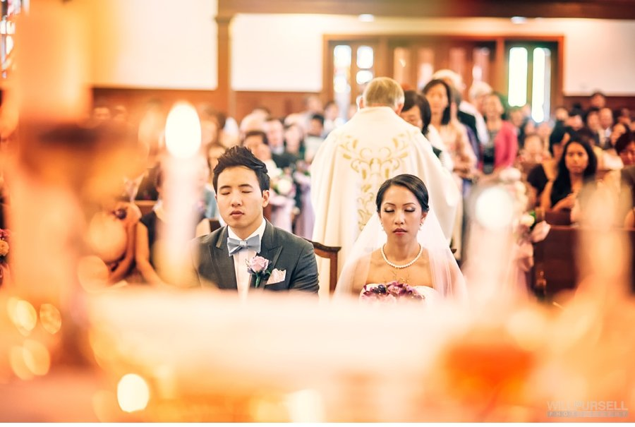 Saints Peter and Paul Parish wedding ceremony