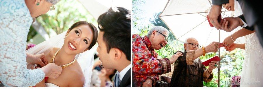 vancouver wedding tea ceremony photo