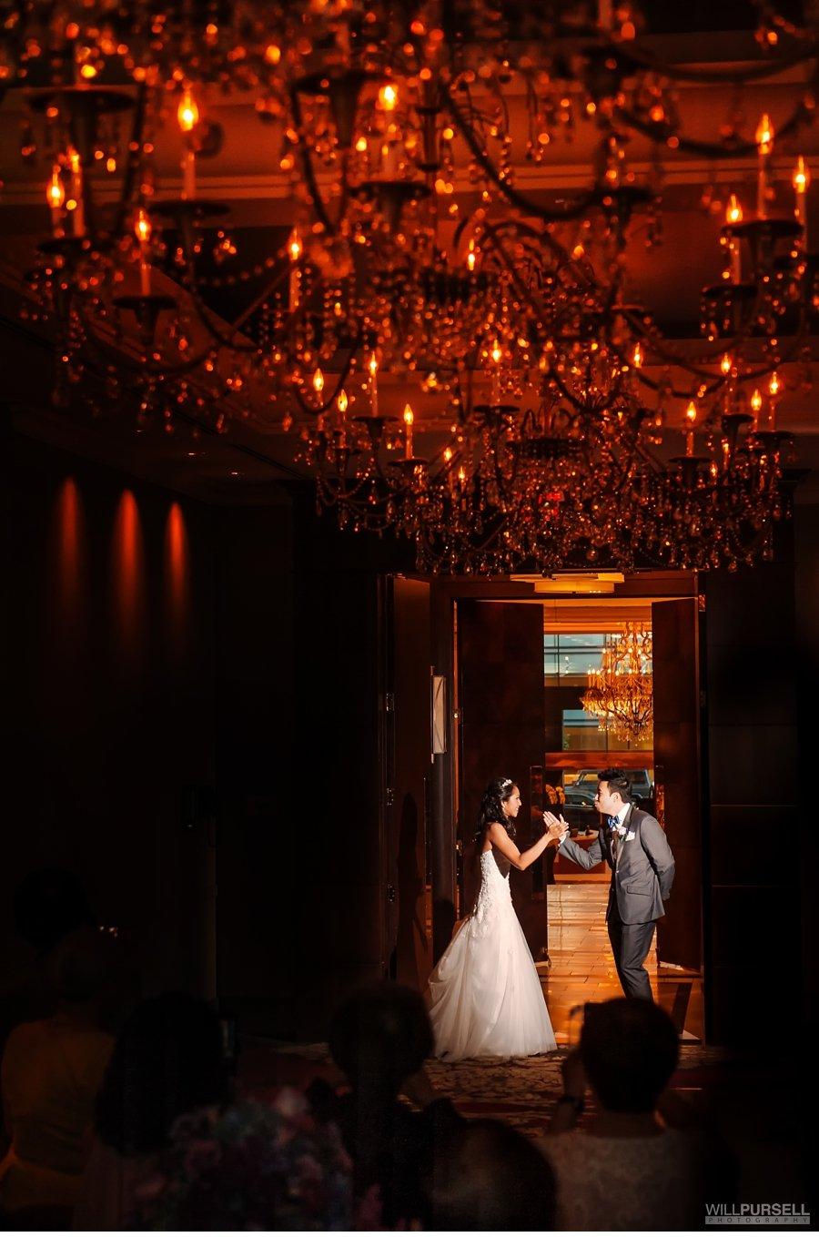 terminal city club wedding grand entrance
