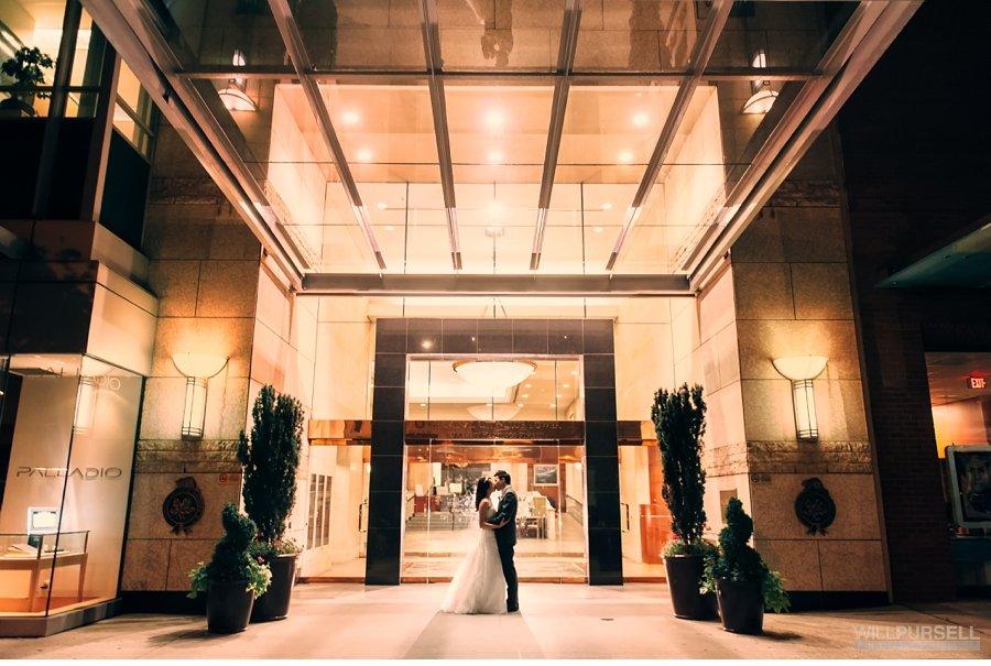 terminal city club wedding night photo