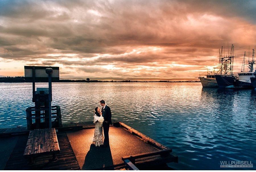 Steveston richmond wedding photo