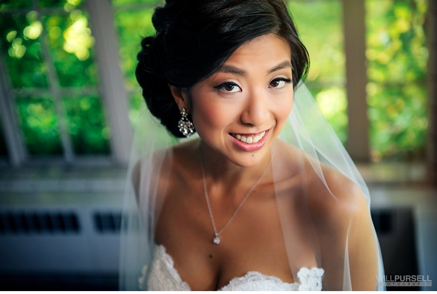 bridal portrait asian bride