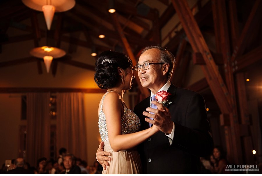 father daughter dance at Westwood Plateau Wedding
