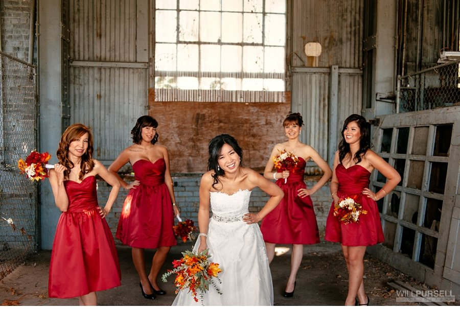 bridesmaids photo in vancouver