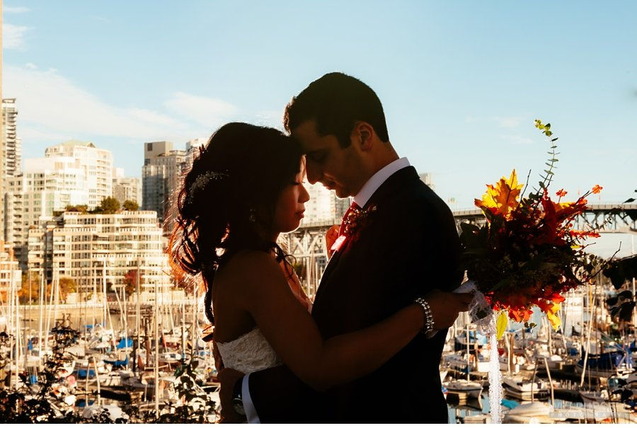 downtown vancouver wedding