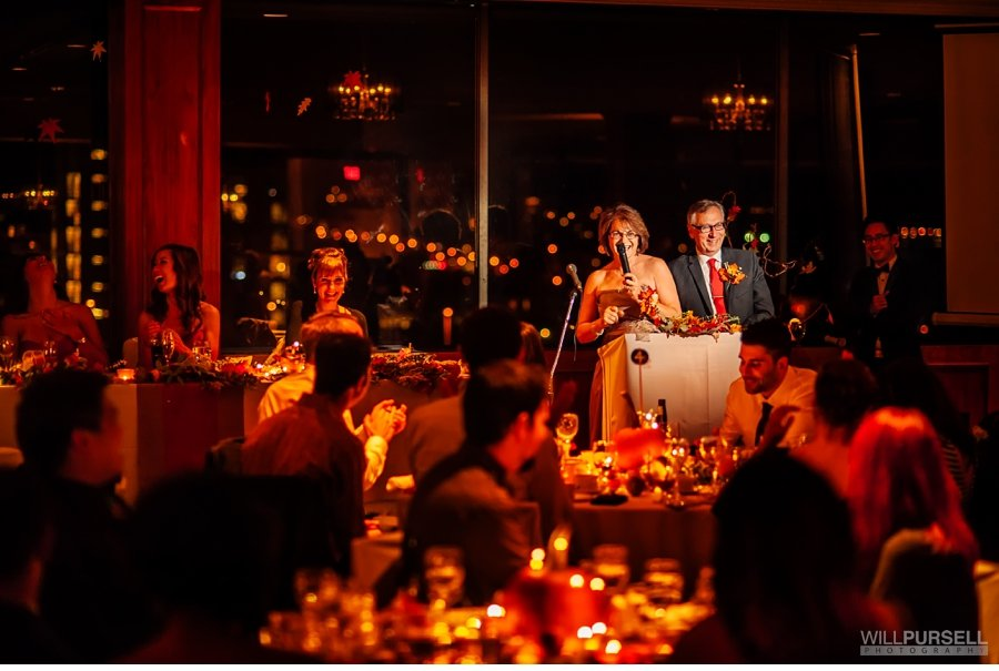 wedding speeches at jewel ballroom in vancouver