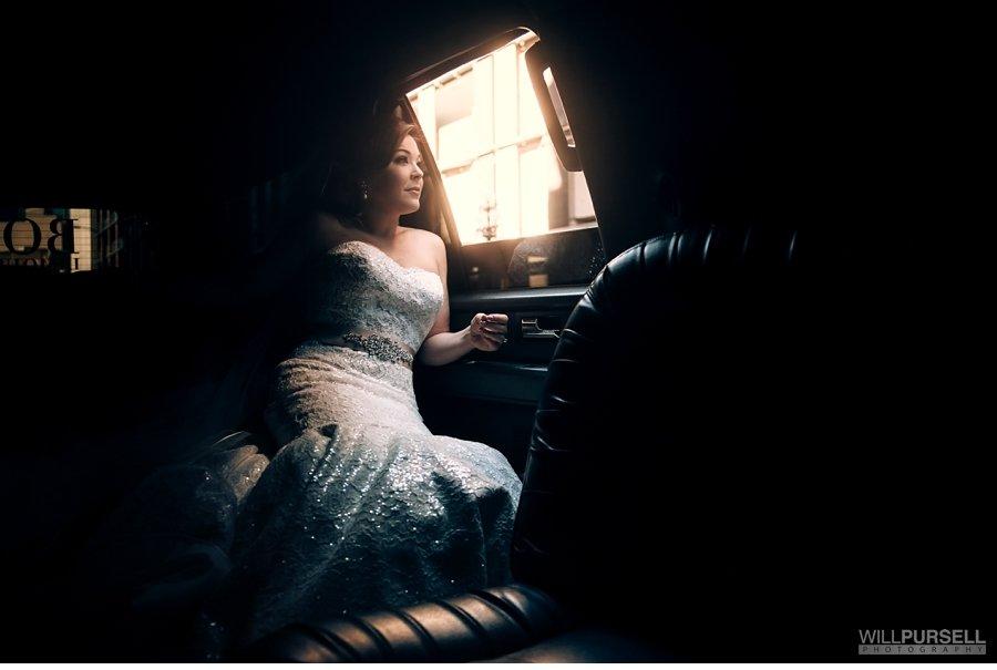 wedding limo photo
