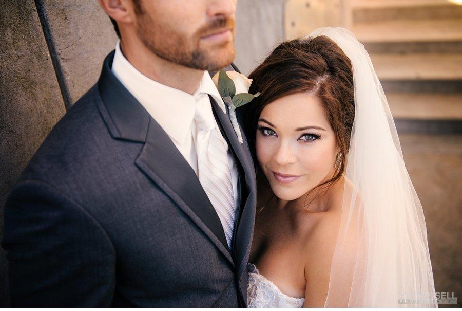 Stanley Park bridal portrait photo