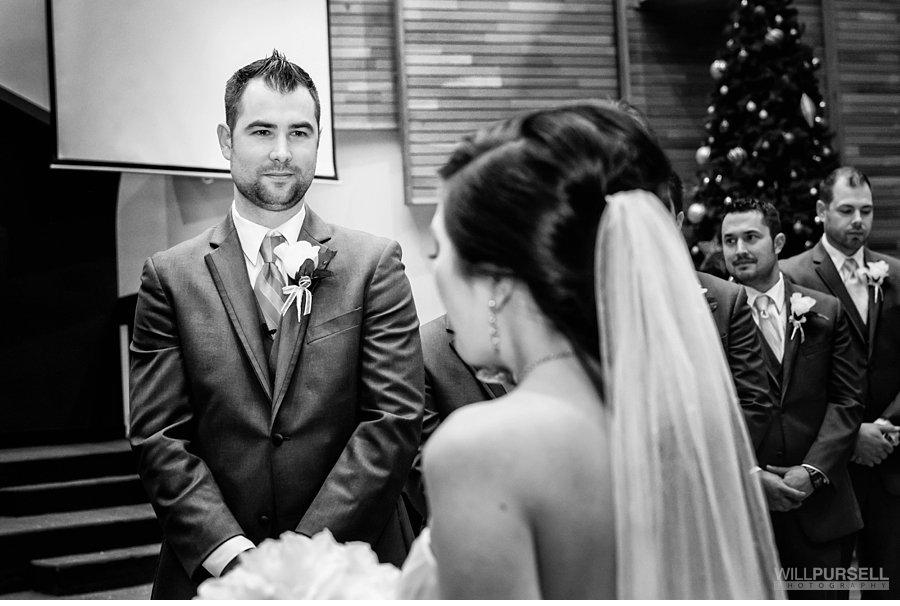 first looking church wedding