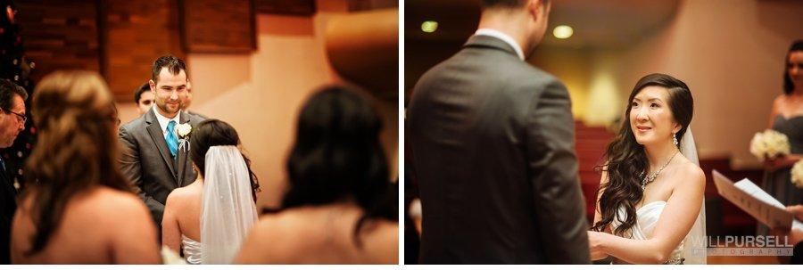exchanging rings church wedding
