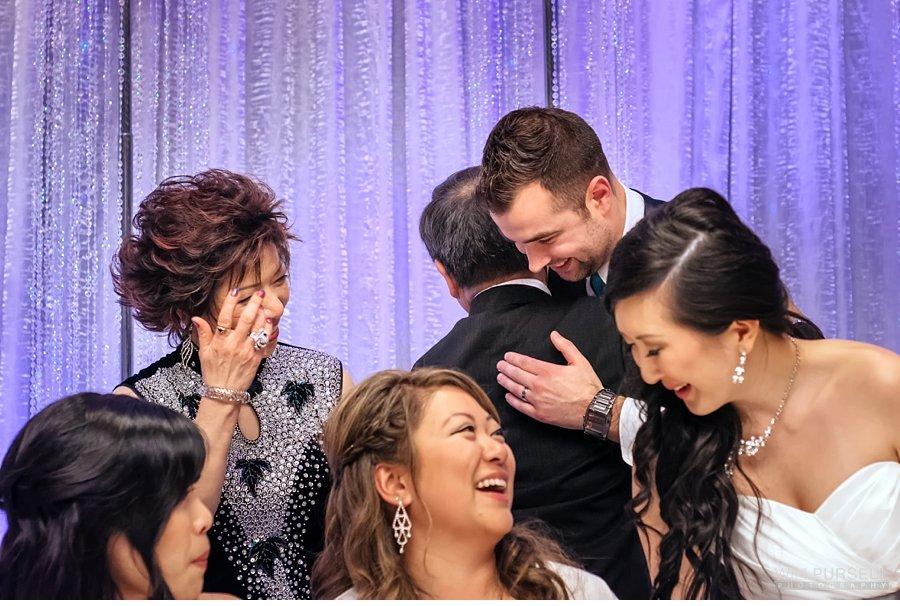 emotions at wedding reception richmond