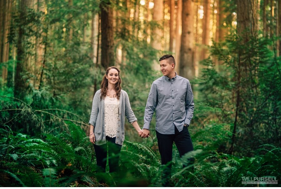pacific spirit engagement session