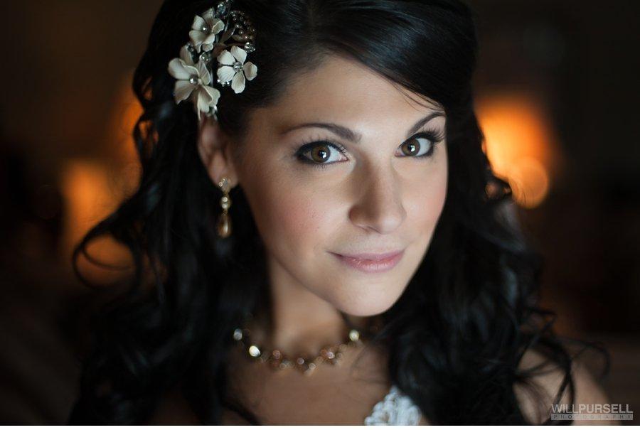 vancouver bridal portrait