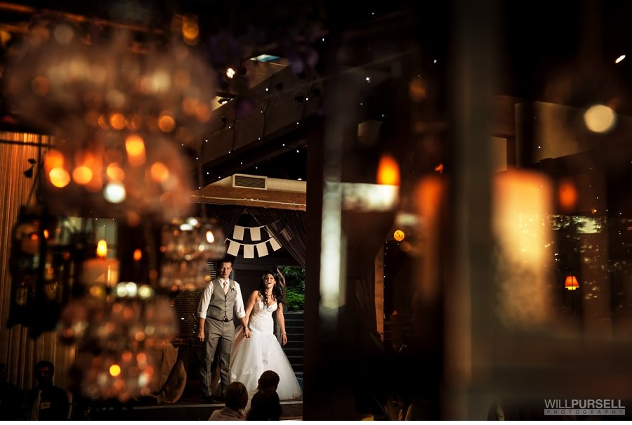 grand entrance SFU wedding