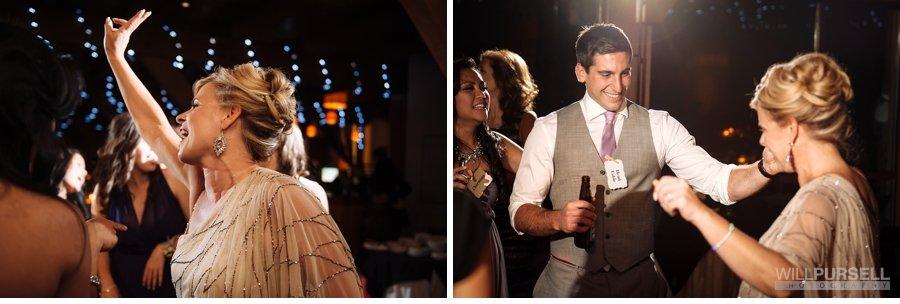 fun dance party photos wedding reception vancouver
