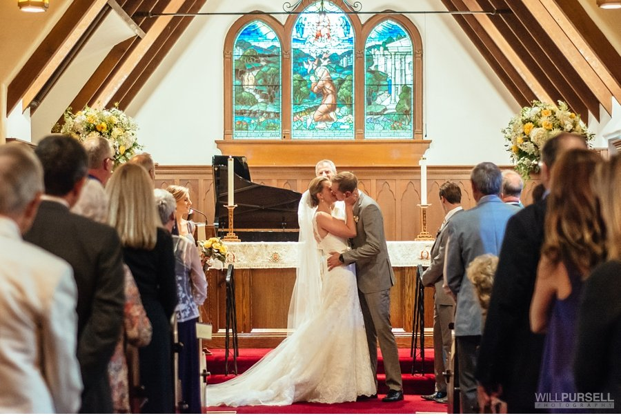 st. francis in the wood wedding